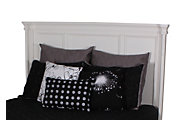 Ashley Prentice Contemporary White King Headboard