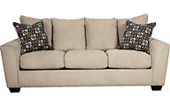 Ashley Wixon Cream Queen Sofa Sleeper