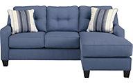 Ashley Aldie Nuvella Gray Queen Sleeper Sofa Chaise