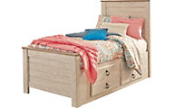 Ashley Willowton Twin Storage Bed