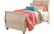 Ashley Willowton Twin Sleigh Bed