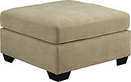 Ashley Maier Tan Cocktail Ottoman