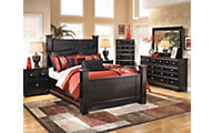 Ashley Shay 4-Piece Queen Bedroom Set