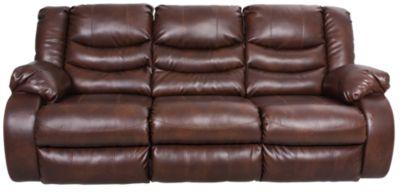 Ashley Linebacker Reclining Sofa Homemakers Furniture