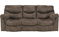 Ashley Alzena Power Reclining Sofa