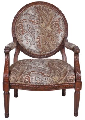 Ashley Martinsburg Meadow Showood Accent Chair