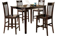 Ashley Hyland Counter Table & 4 Stools