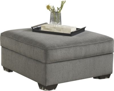 Ashley Loric Storage Ottoman