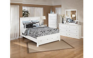 Ashley Bostwick Shoals 4-Piece Queen Storage Bedroom Set