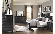 Ashley Greensburg 4-Piece King Headboard Bedroom Set