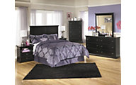 Ashley Maribel 4-Piece King Headboard Bedroom Set