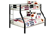 Ashley Dinsmore Twin/Full Metal Bunk Bed