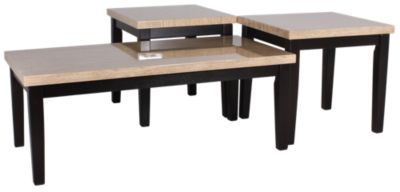 Ashley Wilder Coffee Table & 2 End Tables