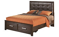 Ashley Aleydis Queen Storage Bed