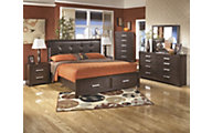 Ashley Aleydis 4-Piece Queen Storage Bedroom Set