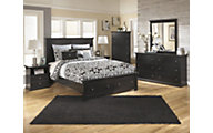 Ashley Maribel 4-Piece Queen Storage Bedroom Set