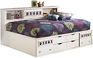 Ashley Zayley Full Bookcase Storage Bed