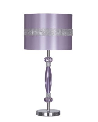 Ashley Nyssa Purple Table Lamp