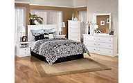 Ashley Bostwick Shoals 4-Piece King Headboard Bedroom Set