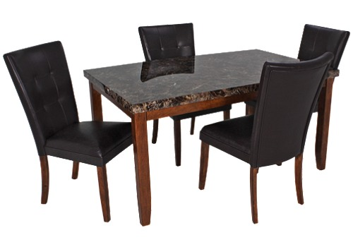 Ashley Furniture Dining Table and Chairs 500 x 350