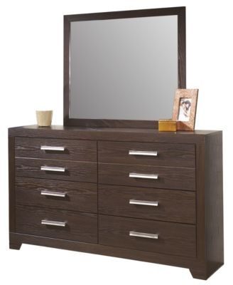 Ashley Aleydis Dresser with Mirror