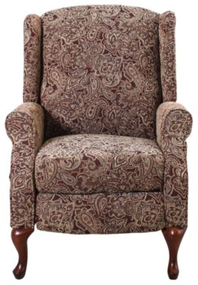 Ashley Nadior Queen Anne Wing Recliner
