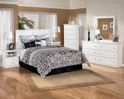 Ashley Bostwick Shoals 4-Pc. Queen Headboard Bedroom Set