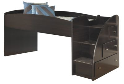 Ashley Embrace Loft Bed with Right Steps