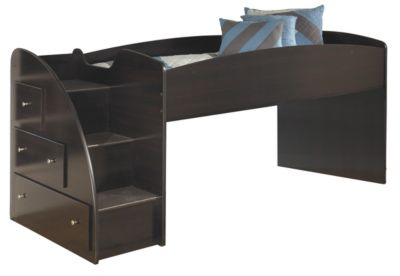 Ashley Embrace Loft Bed with Left Steps