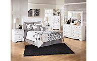 Ashley Weeki 4-Piece Queen Headboard Bedroom Set