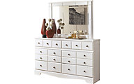 Ashley Weeki Dresser with Mirror