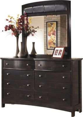 Ashley Harmony Dresser With Mirror Homemakers Furniture