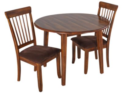 Ashley Berringer 3-Piece Drop Leaf Dining Set