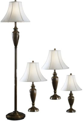 Ashley Caron Lamps (Set of 4)