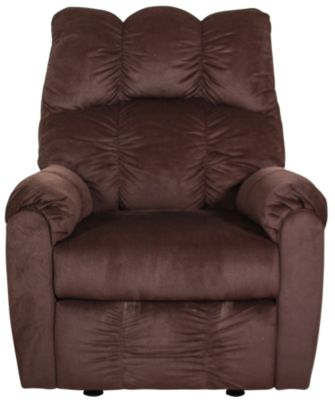 Ashley Raulo Chocolate Rocker Recliner