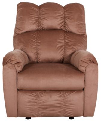 Ashley Raulo Mocha Rocker Recliner