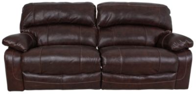 Ashley Damacio Leather Reclining Sofa