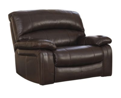 Ashley Damacio Leather Zero Wall Power Recliner