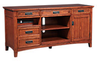 Ashley Cross Island Computer Credenza