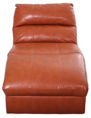 Ashley Paulie Bonded Leather Chaise