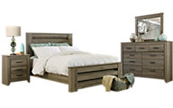 Ashley Zelen 4-Piece Queen Bedroom Set