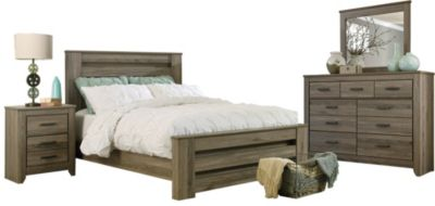 Ashley Zelen 4-Piece King Bedroom Set