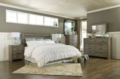 Ashley Zelen 4-Piece King Headboard Bedroom Set