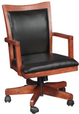 Ashley Cross Island Swivel Arm Chair