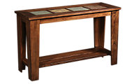 Ashley Toscana Tile Top Sofa Table