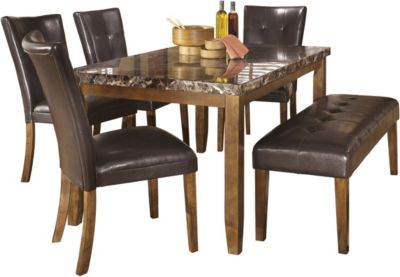 Ashley Lacey 6-Piece Dining Set