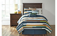 Ashley Seventy Stripe 5-Piece Twin Comforter Set