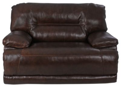 Ashley Exhilaration Leather Reclining Chair & 1/2
