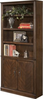 Ashley Hamlyn Bookcase With Doors Homemakers Furniture