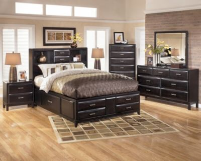 Ashley Kira 4-Piece King Storage Bedroom Set